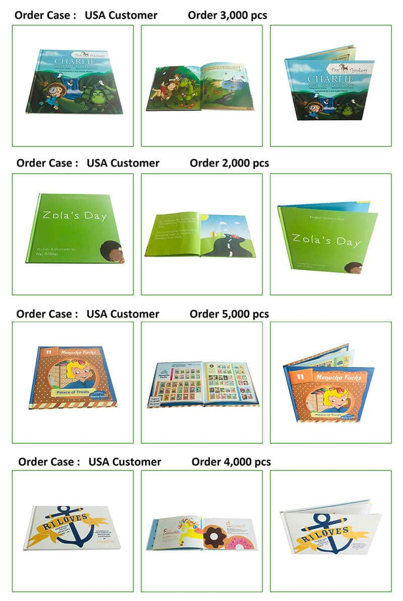 Children Hardcover Book