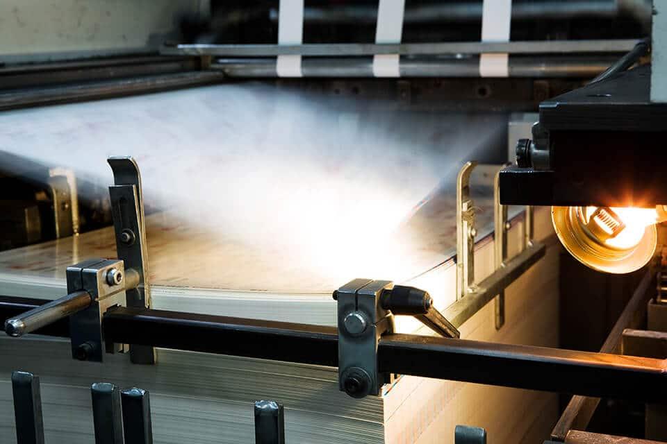 China book printing factory