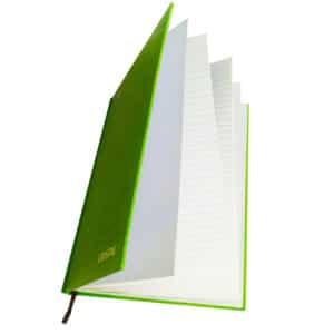 hardcover note book