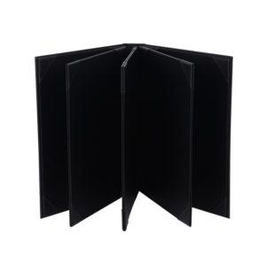 PU Leather Menu Book Foldercover