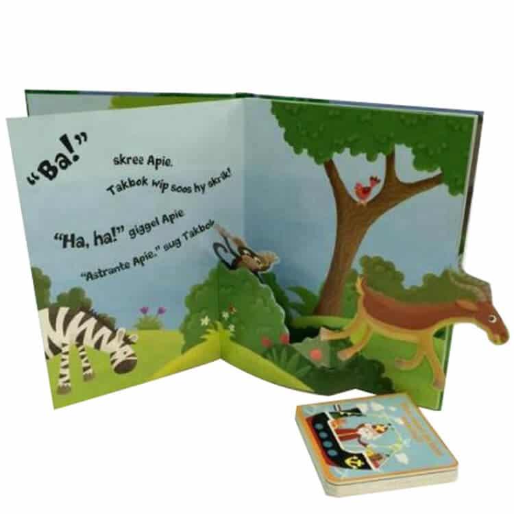 Children Pop Up Book