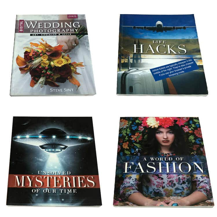 China Softcover Book Printing