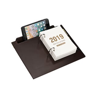 Custom Daily Schedule Business Calendar Stand