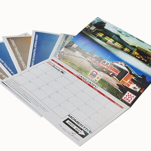 Custom Staple Binding Wall Calendar