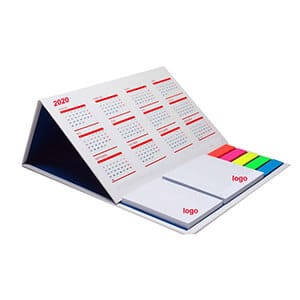 Custom Table Calendar With Sticky Note