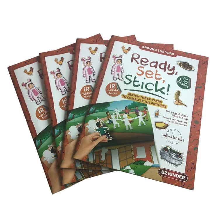 Children Sticker Book