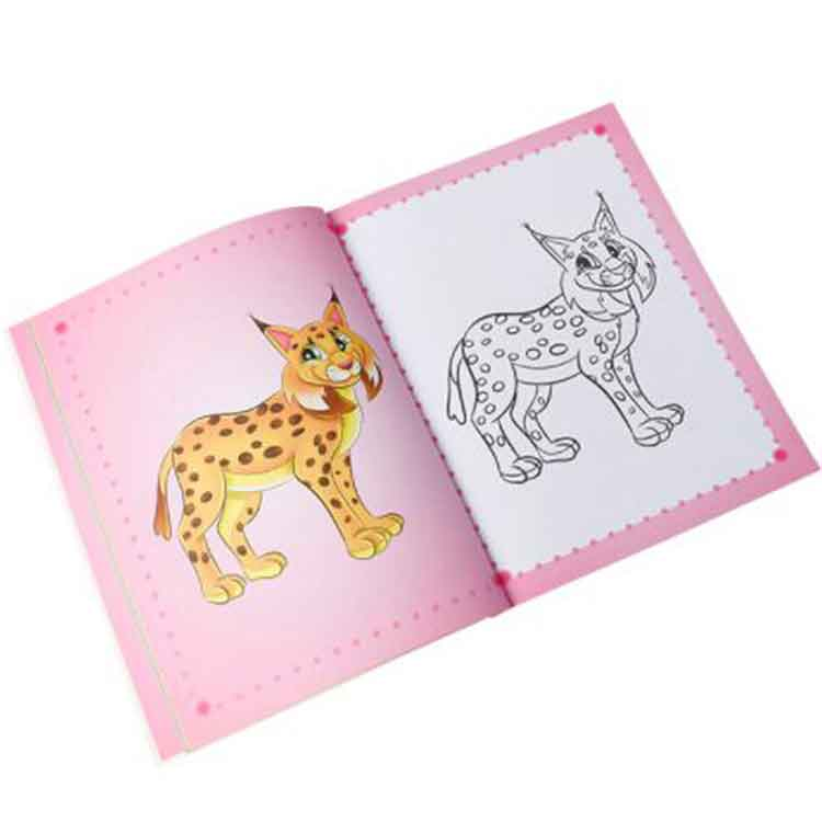 children coloring book printing