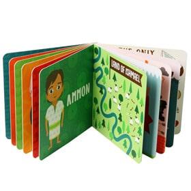 children board book printing